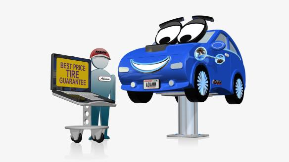 Freelance TV Animation Project for the Milwaukee Auto Market